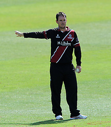 Somerset's Jim Allenby - Photo mandatory by-line: Harry Trump/JMP - Mobile: 07966 386802 - 29/07/15 - SPORT - CRICKET - Somerset v Durham - Royal London One Day Cup - The County Ground, Taunton, England.