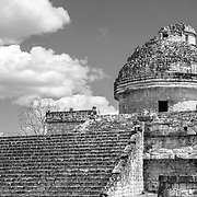 Chichen Itza # 2       El Caracol temple at Chichen Itza. Yucatan, Mexico.