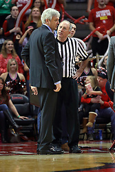 03 December 2016:  Craig Neal and Bob Staffen during an NCAA  mens basketball game between the New Mexico Lobos the Illinois State Redbirds in a non-conference game at Redbird Arena, Normal IL