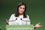 020420 Queen Letizia attends the Presidency of the 9th Forum Against Cancer