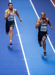 02-02-2018 GBR: World Indoor Championships Athletics day 2, Birmingham<br /> Kai Kazmirek GER, Damian Warner CAN