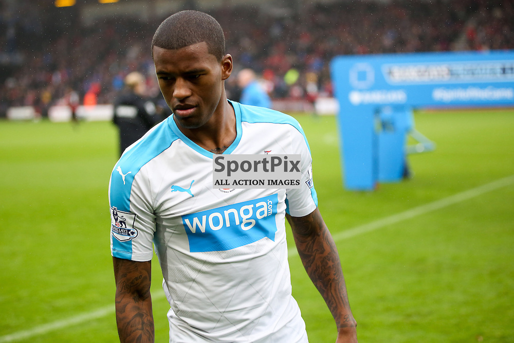 Georgiinio Wijnaldum During AFC Bournemouth vs Newcastle United on Saturday the 7th November 2015.