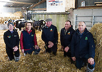 Willie Donoghue's farm in Athenry Co. Galway for  a calf care event organised by Aurivo's Farm Profitability Programme, Teagasc and Animal Health Ireland. Photo:Andrew Downes, xposure