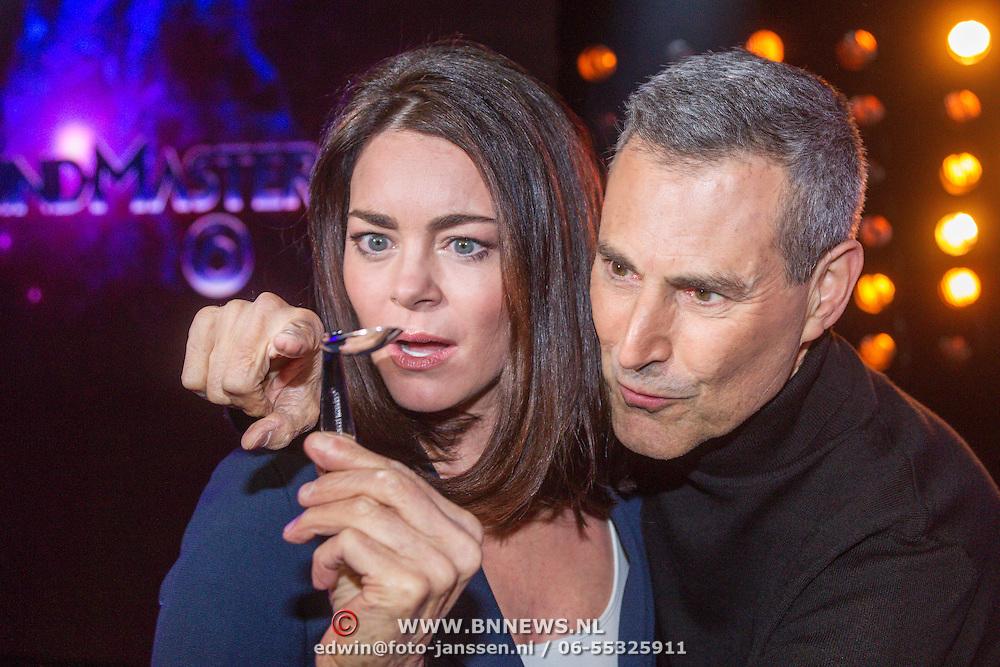 NLD/Aalsmeer/20151119 - Perspresentatie Mindmasters Live, Kim-Lian van der Meij en Uri Geller