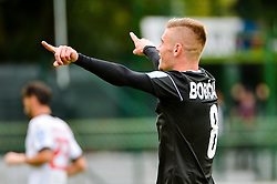 Luka Bobicanec of NS Mura celebrate during football match between NS Mura and NK Aluminij in 6th Round of Prva liga Telekom Slovenije 2018/19, on August 26, 2018 in Mestni stadion Fazanerija, Murska Sobota, Slovenia. Photo by Mario Horvat / Sportida