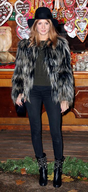 © Licensed to London News Pictures. 21/11/2013, UK.  Millie Mackintosh. Hyde Park Winter Wonderland VIP Opening, Hyde Park, London UK, 21 November 2013. Photo credit : Richard Goldschmidt/Piqtured/LNP