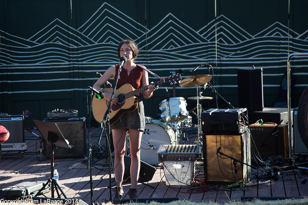 Alina Hardin at Huichica Music Festival 2014 held at Gunlach Bundschu Winery in Sonoma, CA. Photo © Tim LaBarge 2014