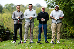 Tom Nicholls joins YESSS Electrical as they take part in the Annual Bristol Rovers Golf Day - Rogan/JMP - 09/10/2017 - GOLF - Farrington Park - Bristol, England - Bristol Rovers Golf Day.