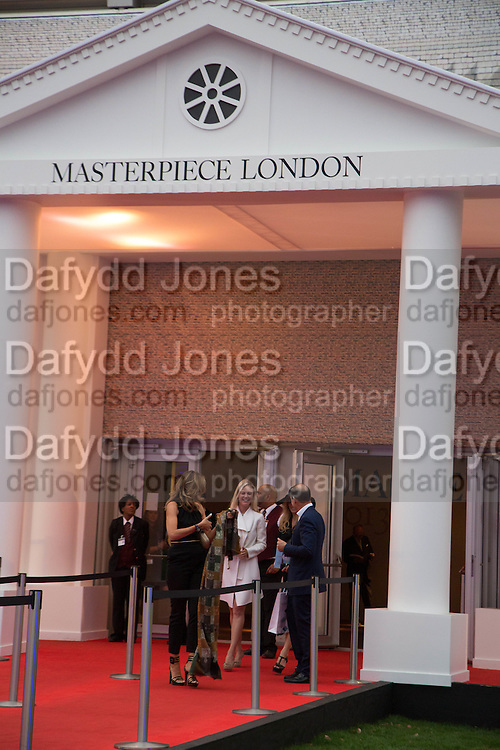 Masterpiece Midsummer Party in aid of Marie Curie hosted by Heather Kerzner. Chelsea Hospital. London. 2 July 2013.