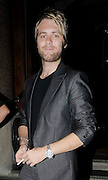 07.JULY.2009 - LONDON<br /> <br /> A WORSE FOR WEAR LOOKING KIAN EGEN AND HIS EX-BANDMATE BRIAN MCFADDEN LEAVING 50 ST.JAMES CASINO AT 2.30AM.<br /> <br /> <br /> BYLINE: EDBIMAGEARCHIVE.COM<br /> <br /> *THIS IMAGE IS STRICTLY FOR UK NEWSPAPERS &amp; MAGAZINE ONLY*<br /> *FOR WORLDWIDE SALES &amp; WEB USE PLEASE CONTACT EDBIMAGEARCHIVE - 0208 954 5968*