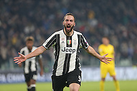 07.12.2016 - Torino - Champions League  -  Juventus-Dinamo Zagabria nella  foto:  Gonzalo Higuain - Juventus