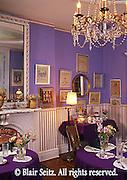 Victorian B and B dining room, Jim Thorpe, Carbon Co., NE PA