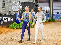 Hannich Ilona, SUI, For Ever du Chalet CH, Lunger Aebi Simone<br /> World Equestrian Games - Tryon 2018<br /> © Hippo Foto - Stefan Lafrenz<br /> 19/09/18