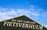 VLIELAND - Verhuur van fietsen.ANP COPYRIGHT KOEN SUYK