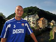 06-08-2008 Voetbal:Maikel Aerts:Bad-Schandau:Duitsland<br /> Willem II is in Oost Duitsland in Bad-Schandau voor een trainingskamp.<br /> Danny Schenkel<br /> <br /> foto: Geert van Erven