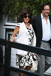 © Licensed to London News Pictures. 08/09/2014, UK. Joan Collins, ITV Studios, London UK, 08 September 2014. Photo credit : Brett D. Cove/Piqtured/LNP