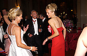 Lady Alexandra Spencer Churchill and The Duchess of Marlborough, Ball at Blenheim Palace in aid of the Red Cross, Woodstock, 26 June 2004. SUPPLIED FOR ONE-TIME USE ONLY-DO NOT ARCHIVE. © Copyright Photograph by Dafydd Jones 66 Stockwell Park Rd. London SW9 0DA Tel 020 7733 0108 www.dafjones.com