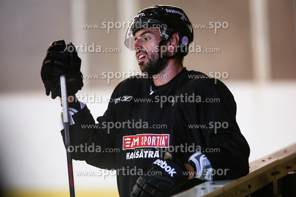 Matic Podlipnik during practice session and press conference before Kopitar's departure to USA, on August 28, 2014 in Ledna dvorana Bled, Slovenia. Photo by Matic Klansek Velej  / Sportida.com