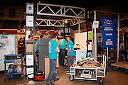 An image from Lincoln Ward's photographic journal of the FIRST Robotics FRC Wisconsin Regional 2010, held at the US Cellular Arena in Milwaukee, Wisconsin.