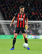 Andrew Surman (6) of AFC Bournemouth during the EFL Cup 4th round match between Bournemouth and Norwich City at the Vitality Stadium, Bournemouth, England on 30 October 2018.