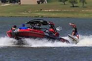 May 7, 2016: WakeSurfers / WakeBoarders during Saturday's quarter finals at the Supra Boats Pro WakeBoarder Tour. 2016 Kickoff Event stop at the Marine Creek Reservoir in Fort Worth, Texas.