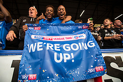 Free to use courtesy of Sky Bet, Portsmouth Champions of League Two - Mandatory by-line: Jason Brown/JMP - 06/05/2017 - FOOTBALL - Fratton Park - Portsmouth, England - Portsmouth v Cheltenham Town - Sky Bet League Two