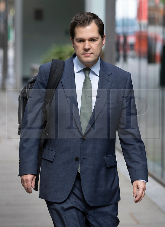 © Licensed to London News Pictures. 29/06/2020. London, UK. Secretary of State for Housing, Communities and Local Government ROBERT JENRICK MP walks to Parliament. Tory minister Jenrick has been reported to the Commons standards watchdog over his decision to approve Richard Desmond's £1bn Westferry property development. Photo credit: Peter Macdiarmid/LNP