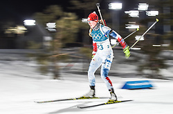 February 12, 2018 - Pyeongchang, Gangwon, South Korea - Jessica Jislova of Czech Republic competing at Women's 10km Pursuit, Biathlon, at olympics at Alpensia biathlon stadium, Pyeongchang, South Korea. on February 12, 2018. Ulrik Pedersen/Nurphoto  (Credit Image: © Ulrik Pedersen/NurPhoto via ZUMA Press)