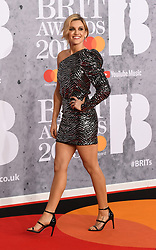 February 21, 2019 - London, London, United Kingdom - Image licensed to i-Images Picture Agency. 20/02/2019. London, United Kingdom. Ashley Roberts  at the Brit Awards in London. (Credit Image: © i-Images via ZUMA Press)