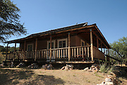 Kentucky Camp, a ghost town in the Coronado National Forest, once served miners near Sonoita, Arizona, USA, currently has a bed and breakfast inn.