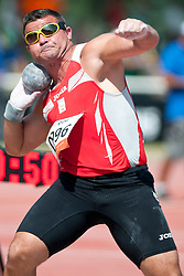 CASINOS SIERRA David, ESP, Shot Put, F11, 2013 IPC Athletics World Championships, Lyon, France