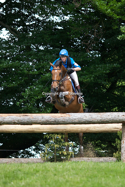 Equi-Trek Bramham International Horse Trials 2012  CIC3*<br /> Karin Donckers and Extebarta Van Het Verahof (BEL)