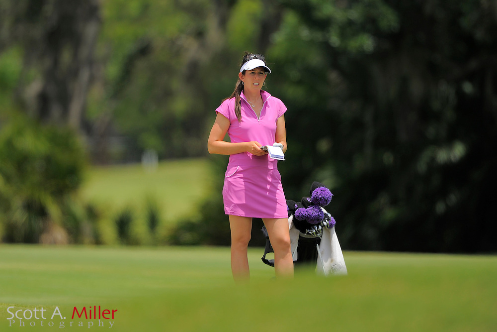 Emma Jandel during second round of the Symetra Tour's Guardian Retirement Championship at Sara Bay in Sarasota, Florida April 27, 2013. ..©2013 Scott A. Miller