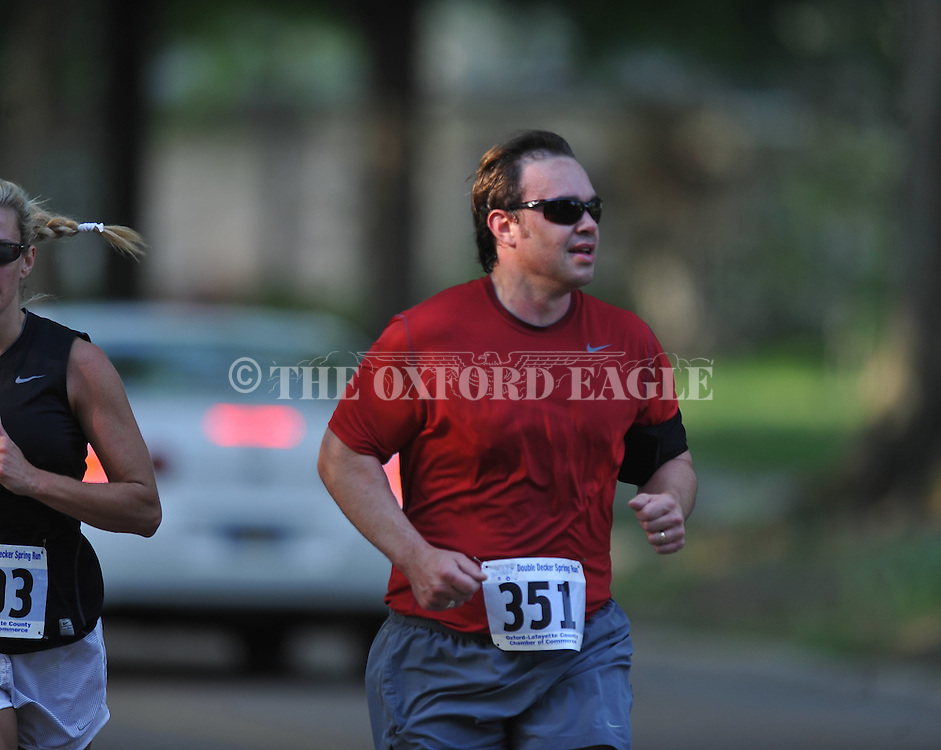 The Double Decker Arts Festival 5K race and 10K race in Oxford, Miss. on Saturday, April 30, 2011.