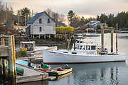 The little village of Southport west of Boothbay Harbor looks like it hasn't changed much in the last 60 years.