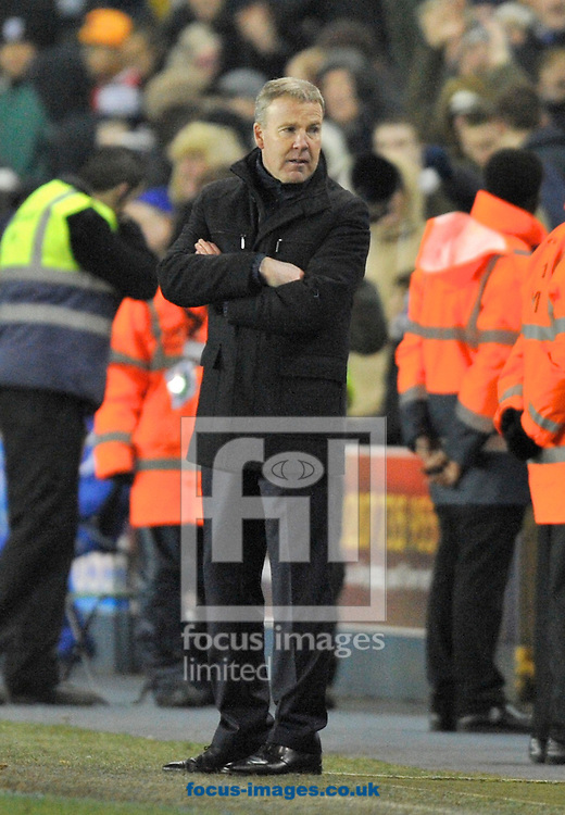 Picture by Alan Stanford/Focus Images Ltd +44 7915 056117.25/01/2013.Manager Kenny Jackett of Millwall  during the The FA Cup match at The Den, London.