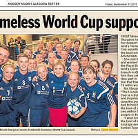 INVOICE ALL USE<br /> <br /> First Minister Nicola Sturgeon meets Scotland's Homeless World Cup football squad.<br /> <br /> All images &copy;Warren Media 2015<br /> Lenny Warren / Warren Media<br /> 07860 830050  01355 229700<br /> lenny@warrenmedia.co.uk<br /> www.warrenmedia.co.uk