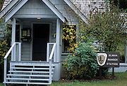 Elwha Ranger Station, Ranger Station, Olympic National Park, Olympic, Washington