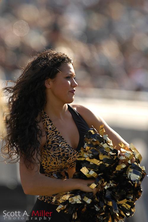 Dec. 9, 2007; Jacksonville, FL, USA;  Jacksonville Jaguars cheerleaders during the Jags game against the  Carolina Panthers at Jacksonville Municipal Stadium.                        ©2007 Scott A. Miller..©2007 Scott A. Miller