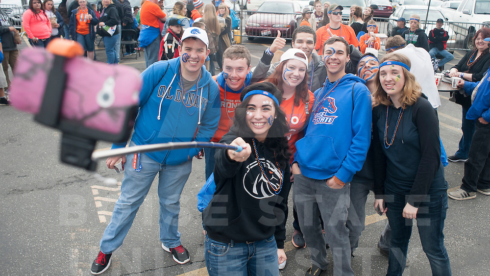Bronco Day, tailgate party at the Gene Bleymaier Football Center, Photo Patrick Sweeney