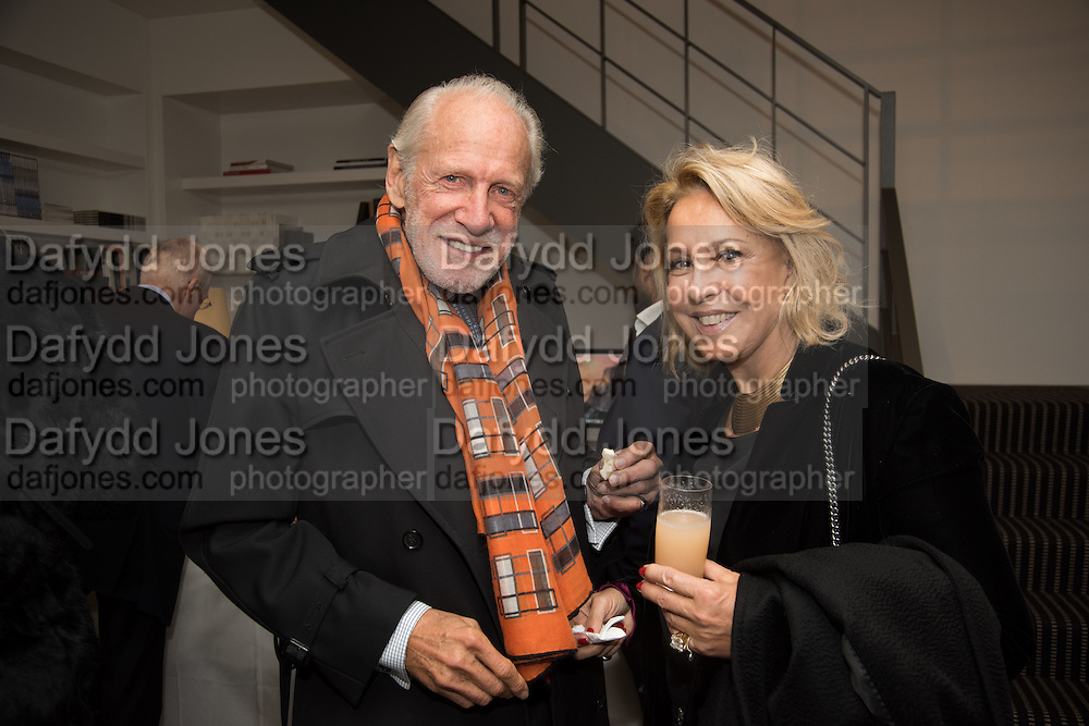 BARON DIEGO VON BUCH; LILIANA VON BUCH, Launch of the Dutko Gallery  the first commercial space in London dedicated to Art Deco design. 18 Davies Street , Mayfair. London. 15 October 2015