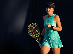 March 21, 2019 - Miami, FLORIDA, USA - Belinda Bencic of Switzerland playing doubles at the 2019 Miami Open WTA Premier Mandatory tennis tournament (Credit Image: © AFP7 via ZUMA Wire)