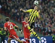 UEFA Champions League final football match between Borussia Dortmund and Bayern Munich at Wembley Stadium in London on May 25, 2013, Bayern Munich won the game 2-1 <br />Sven Bender of Borussia Dortmund<br />(Photo by: Piotr Hawalej)