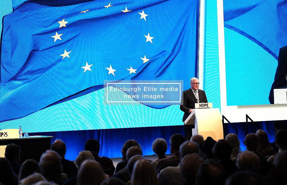 SNP Spring Conference, Sunday 28th April 2019<br /> <br /> Pictured: Fergus Ewing MSP<br /> <br /> Alex Todd   Edinburgh Elite media