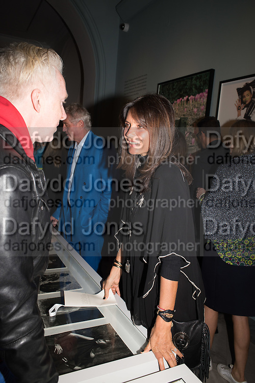 PHILIP TREACY; DEBBONIARE VON BISMARCK, Vogue100 A Century of Style. Hosted by Alexandra Shulman and Leon Max. National Portrait Gallery. London. WC2. 9 February 2016.