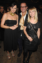 Left to right, RACHAEL STIRLING, SEAN PERTWEE & the HON.MRS PERTWEE at a reception to Discover Wilton's Music Hall held at the hall in Graces Alley, London E1 on 5th December 2007.<br /><br />NON EXCLUSIVE - WORLD RIGHTS