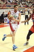 DESCRIZIONE : Campionato 2014/15 Giorgio Tesi Group Pistoia - Consultinvest Pesaro<br /> GIOCATORE : Amoroso Valerio<br /> CATEGORIA : Penetrazione<br /> SQUADRA : Giorgio Tesi Group Pistoia<br /> EVENTO : LegaBasket Serie A Beko 2014/2015<br /> GARA : Giorgio Tesi Group Pistoia - Consultinvest Pesaro<br /> DATA : 29/12/2014<br /> SPORT : Pallacanestro <br /> AUTORE : Agenzia Ciamillo-Castoria / Stefano D'Errico<br /> Galleria : LegaBasket Serie A Beko 2014/2015<br /> Fotonotizia : Campionato 2014/15 Giorgio Tesi Group Pistoia - Consultinvest Pesaro<br /> Predefinita :