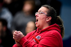 Bristol Flyers fans - Photo mandatory by-line: Ryan Hiscott/JMP - 17/01/2020 - BASKETBALL - SGS Wise Arena - Bristol, England - Bristol Flyers v London City Royals - British Basketball League Championship