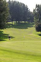 BERGSCHENHOEK - Hole 18 . Golfbaan De Hooge Rotterdamsche . COPYRIGHT KOEN SUYK -