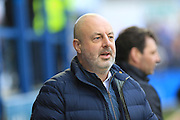 Keith Hill during the The FA Cup 3rd round match between Barrow and Rochdale at Holker Street, Barrow, United Kingdom on 7 January 2017. Photo by Daniel Youngs.